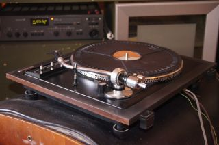 Nice BSR Quanta 500 Belt Drive audiophile Turntable, working w