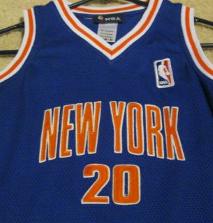 NEW YORK KNICKS WOMENS LADIES JERSEY DRESS NBA BASKETBALL SEWN LOGOS M