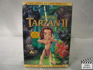 Tarzan 2 DVD New Disney Glenn Close George Carlin 786936189360