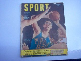 March 1950 Sport Magizine George Mikan