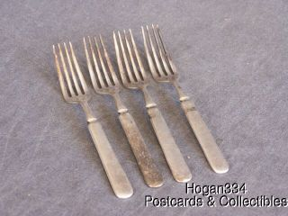Vintage Simeon L George H Rogers Company 12 Forks