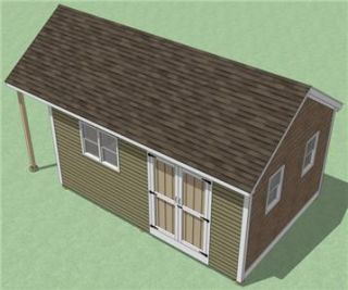 12x18 Shed Plans How to Build Guide Step by Step Garden Utility