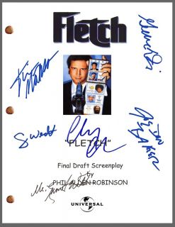 Signed Movie Script by 6 Chevy Chase Tim Matheson George Wendt