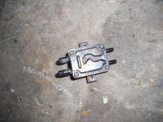 Onan P218 Fuel Pump from John Deere Lawn Tractor