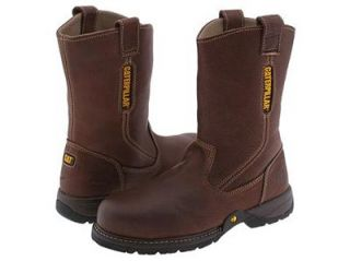 Caterpillar Mens footwear P73263OAK Gladstone Steel Toe 10 Leather
