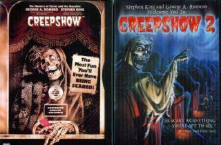 CREEPSHOW 1  2  3 Stephen King George Romero NEW 3 DVD