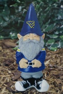 West Virginia Mountaineers Garden Gnome Yard Statue New