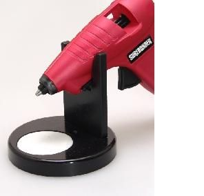 Hot Glue Gun Stand Drip Catcher Fits Most Easy Clean Pad Glue Gun not