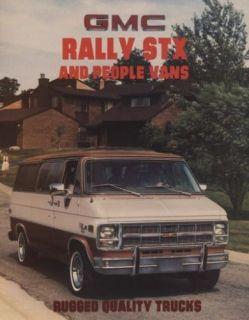1981 GMC Truck Rally Van CDN Sales Brochure Guacho
