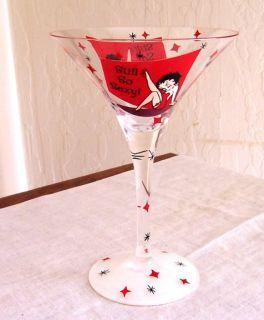Betty Boop Martini Glass Still So Sexy 7 Ounces