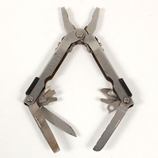 Gerber Multi Tool Pliers Knife File Saw Screwdrivers Stainless USA