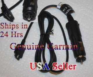 New Genuine Garmin Aera 500 510 550 560 GPS Vehicle Car Charger Power