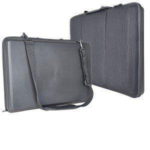 Milen 17 Laptop to Go Travel Laptop Case Cushioned Laptop Desk as