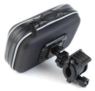 Bicycle Motorcycle Waterproof Mount Case Bag for Garmin TomTom GPS