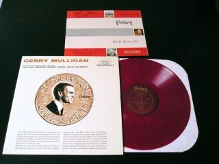 Gerry Mulligan Paul Desmond 56 Red Vinyl LP Clean