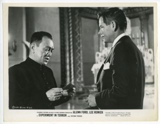 Movie Still Glenn Ford Experiment in Terror 1962