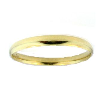 Womens 14kt Solid Gold Bangle Bracelet