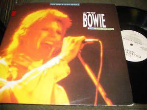 David Bowie The Collection 2 LP Vinyl CCSLP118 85 RARE