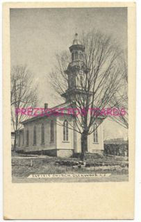 Glenwood NJ Baptist Church Circa 1905 Postcard Sussex County