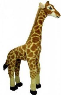 Large Standing Plush Giraffe
