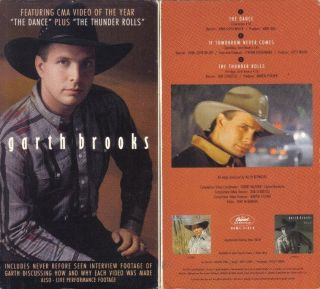 VHS Garth Brooks His First Video