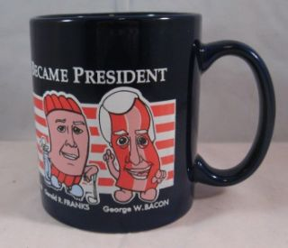 Promo US Presidents Coffee Mug Cup Thomas JefferSALAMI + More Names