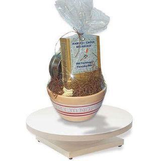 Industrial Shrink Wrap Turntable Gift Basket Supplies