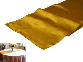 Satin Table Runner Wedding Supply 26 Colors