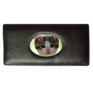Cute Cats Lovers Pet Ladies Long Wallet Gift Credit CA