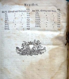 GERMAN BIBLE PRAYER SERMON BOOK germantown pa imprint, BEICHENHAM