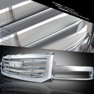 2003 2007 GMC Sierra 1500 2500 Light Duty Chrome Front Upper Grille