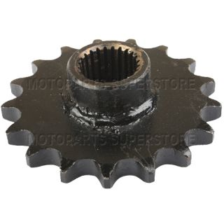 Chain 17 Tooth Front Engine Sprocket GY6 150cc ATVs Go Karts