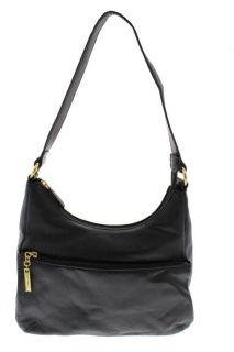 Giani Bernini New Nappa Black Leather Hobo Handbag Medium BHFO