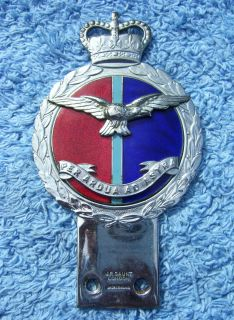 Royal Air Force Car Bar Badge RAF Vespa Lambretta Auto Jr Gaunt