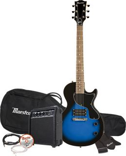by Gibson Single Cutaway Electric Guitar Loaded w Accessories