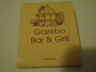Gazebo Bar Grill Wood Burning Grill Fox River GR Ill