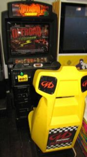 Off Road Thunder Deluxe Sit Down Arcade Video Game Moneymaker