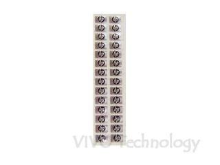 FECT1002010 NEW HP DV1000 Small Black Logo Sticker