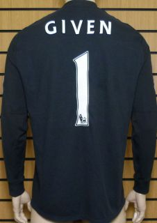 Given Manchester City Player Issue Euro GK Shirt Large