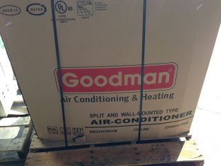 24 000 BTU Goodman Air Conditioner R 410A Mini Split Outside Unit Only