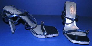 Womens shoes   SANDALS   navy   HEELS   size 6   NEW