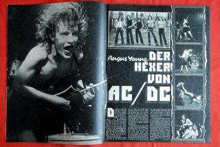 Black Sabbath Geezer Butler AC DC 77' Bravo Magazine