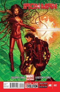 Iron Man 2 Marvel Comics Now