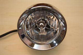 Chrome Bullet Headlight for Harley Davidson Motorcycle
