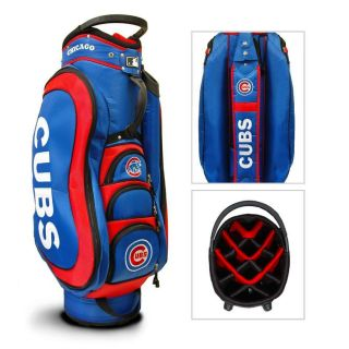 MLB Team Golf Chicago Cubs Medalist Golf Cart Bag New in Box