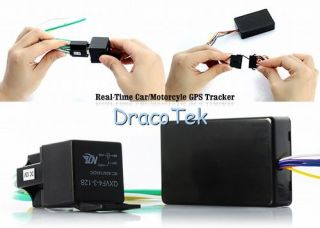 Real Time Car Motorcycle GSM GPS Tracker Anti Stolen