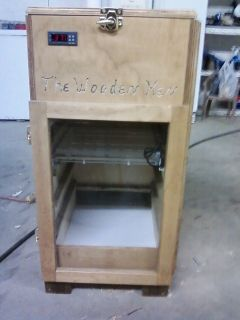 164 Egg Incubator The Wooden Hen Cabinet Style Like GQF