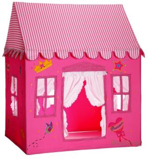 Kids Fengi Pink Princess Cottage Play House Tent Club