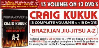 Craig Kukuk, A to Z, Brazilian Jiu Jitsu, Instructional DVD, Training