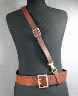 1939 WWII German Officer Uniform Luger P08 Pistol Gun Holster Leather